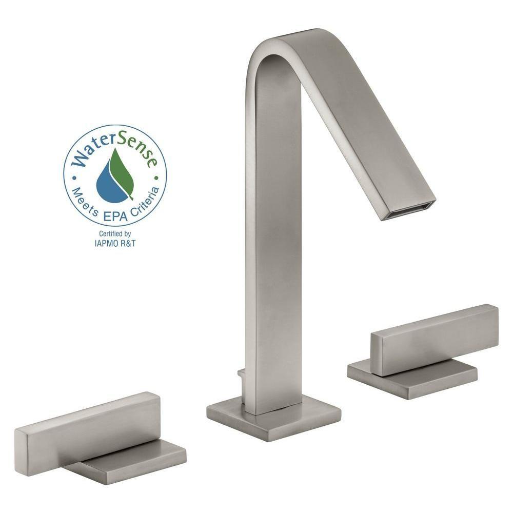 KOHLER Loure 8 in. Widespread 2-Handle Water-Saving ...