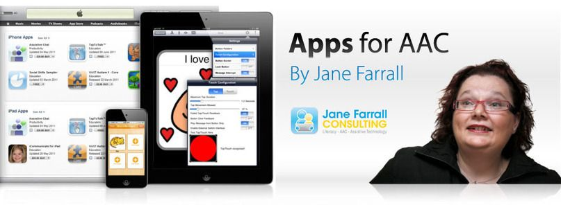 iPhone/iPad Apps for AAC Update by Jane Farrall Speech