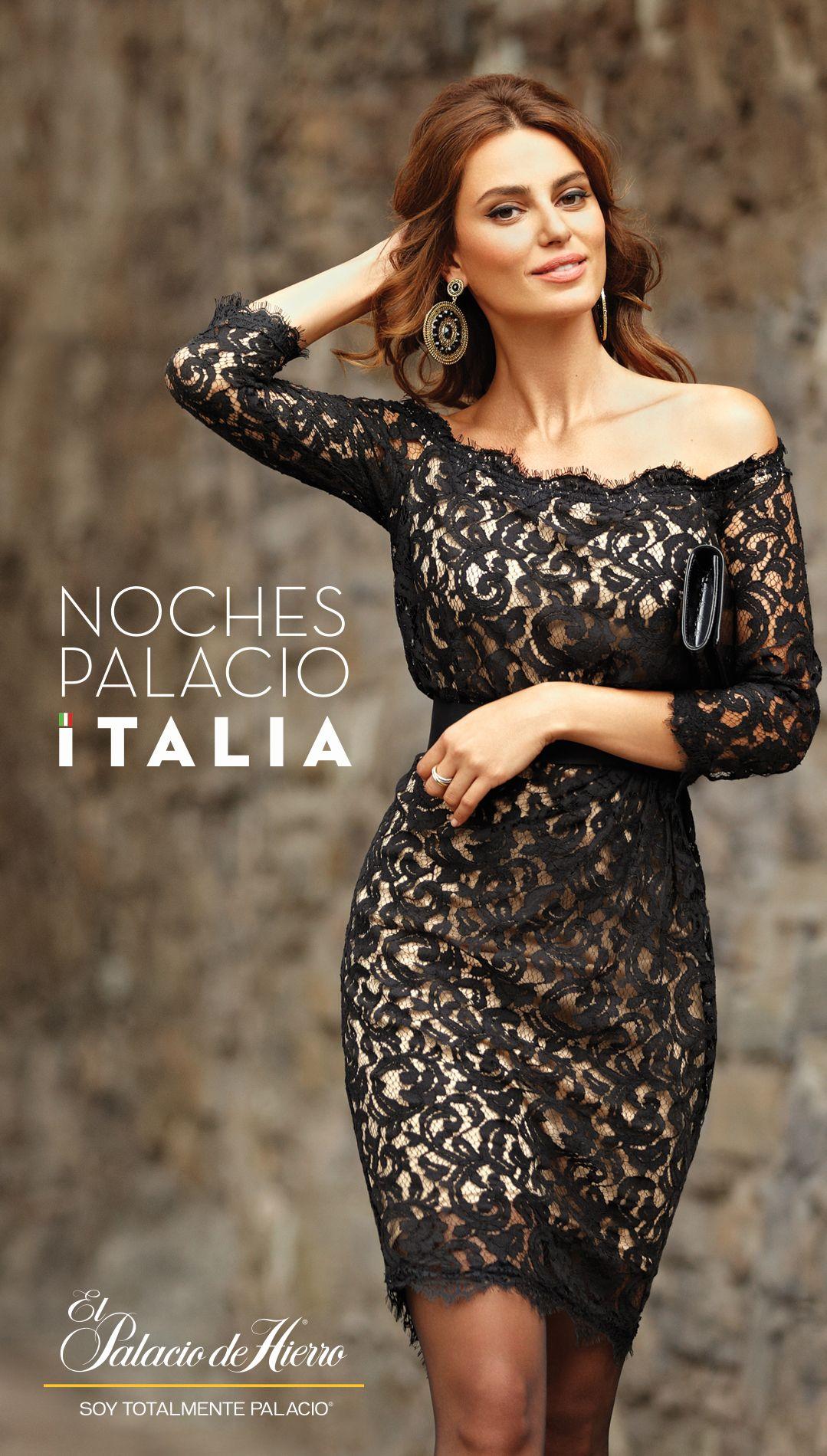 e2deb24344 Noches Palacio al Estilo Italia - El Palacio de Hierro Vestidos De Cena De  Ensayo