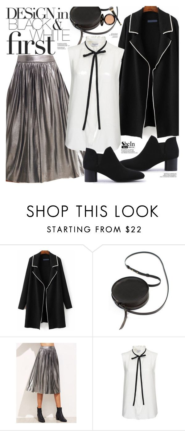 """""""Shein"""" by oshint ❤ liked on Polyvore featuring Sara Barner, Frame Denim and It Cosmetics"""