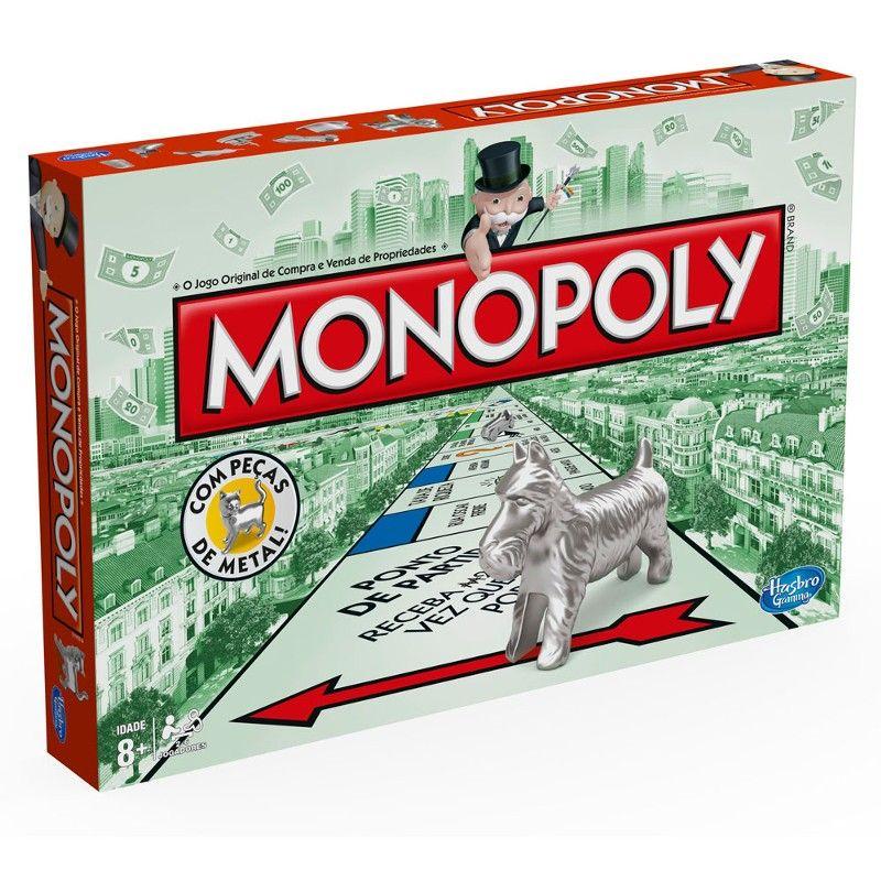 Jogo Monopoly Edicao Especial Com Pecas De Metal Hasbro Ri Happy Monopoly Bordspellen Kaartspellen