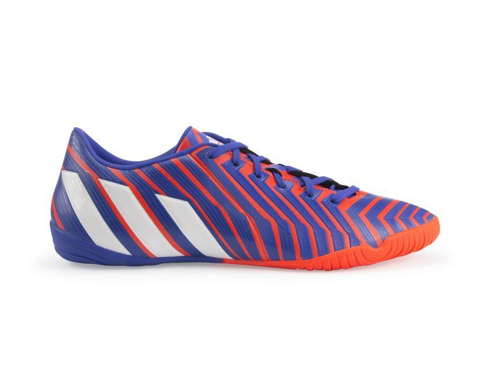 adidas Men s Predator Absolado Instinct Indoor Soccer Shoes Solar Red White efe54b8a697ec
