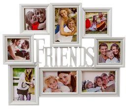 Marco multifotos para 8 fotos FRIENDS