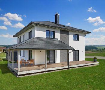 flair 152 re town country haus massivhaus mit walmdach. Black Bedroom Furniture Sets. Home Design Ideas