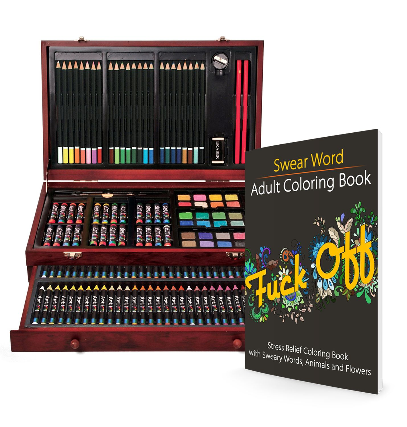 Giveaway Win A Coloring Wood Art Set With 142 Pieces 30 Value