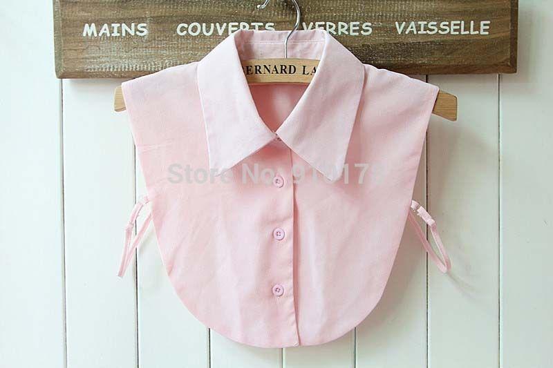 Ni/ñas Blusa Desmontable Blusa Media Camisas Collar