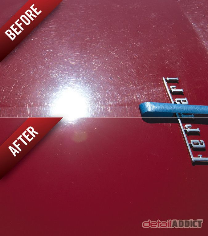 Detailaddict before and after paint correction on a ferrari detailaddict before and after paint correction on a ferrari fandeluxe Gallery