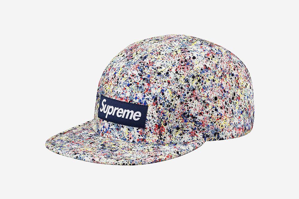 daddc99453d Supreme x Liberty Splatter Camp Caps