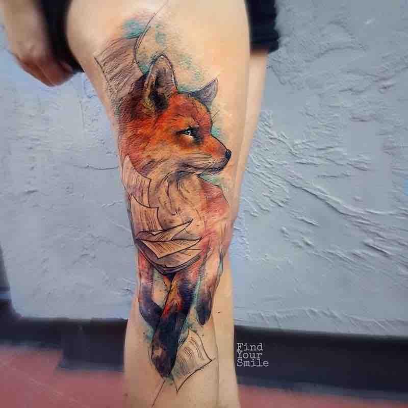The Best Fox Tattoos Fox Tattoo Fox Tattoo Design Tattoos