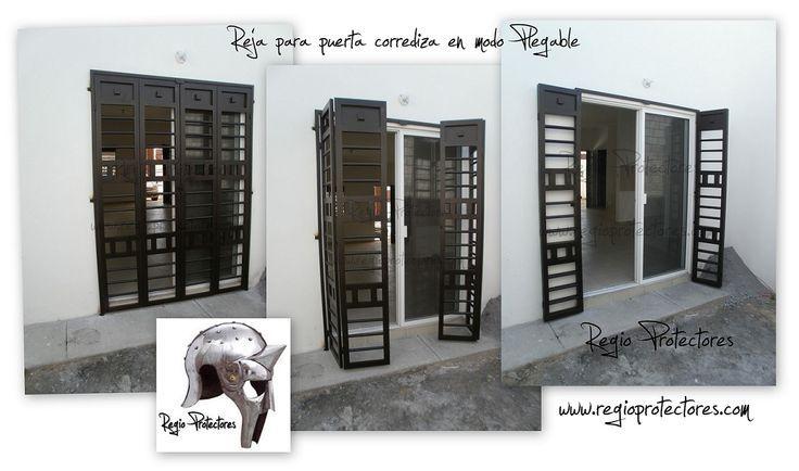 Puerta ventana con reja integrada buscar con google reja para el patio pinterest - Ventana con persiana integrada ...