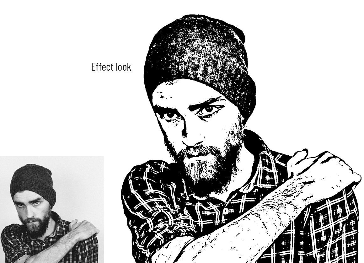 Vector Tracing Photoshop Action | Photoshop actions ...