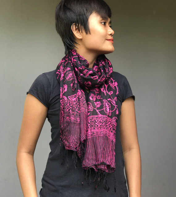 Pin By Alus Indonesia On Silk Batik Scarves