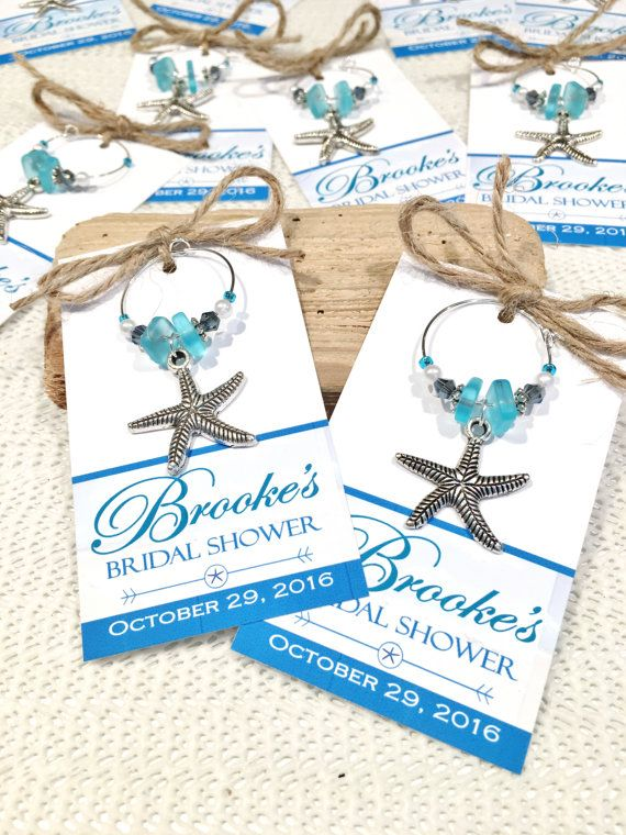 Beach Bridal Shower Favors Beach Wedding Favors Starfish Wedding