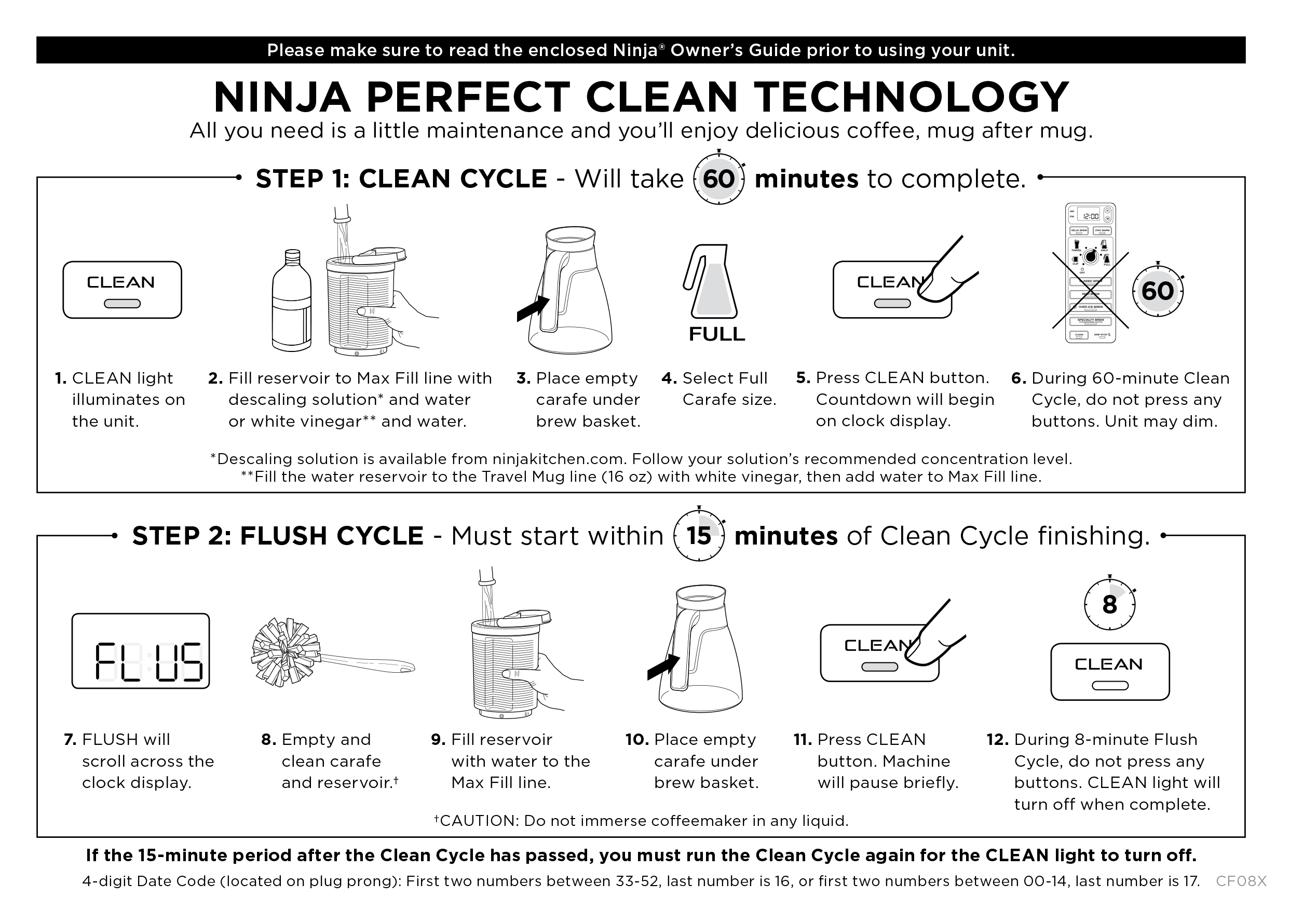 Image Result For Clean Ninja Coffee Maker