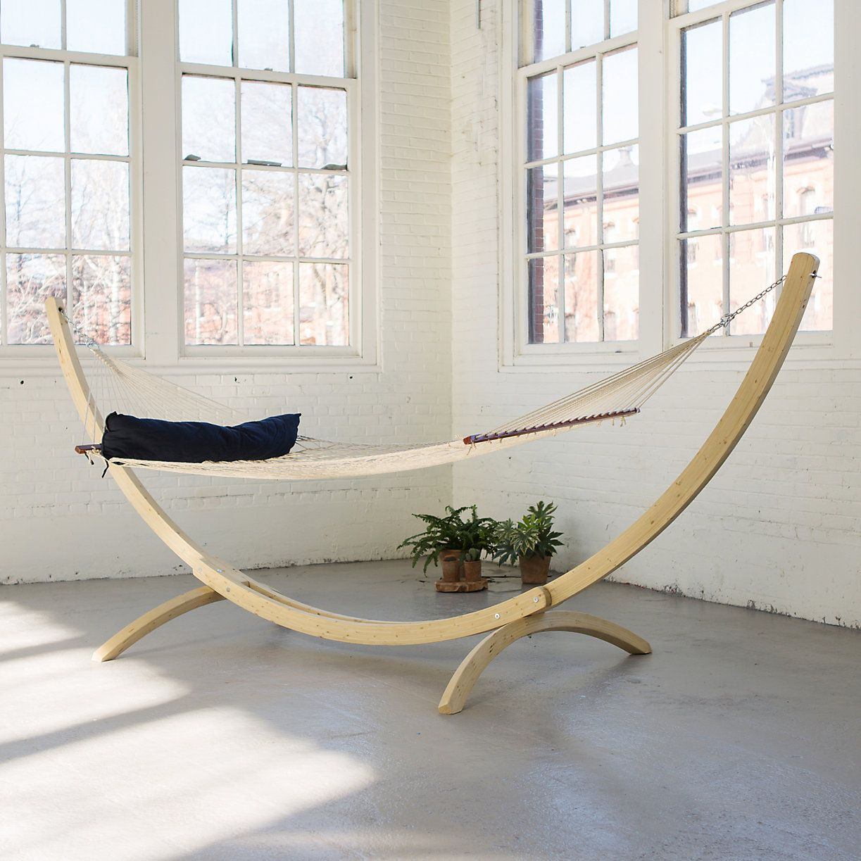 Rope net hammock catskills house pinterest hammock indoor