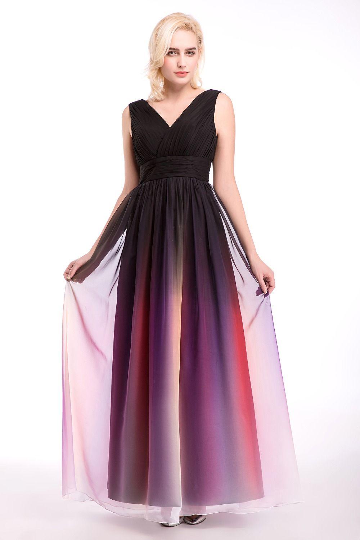 Barato Em Estoque 100 Real Pic Longo Multi Color Vestidos Dama De Honra Elegante Para O Casamento Pro Colorful Prom Dresses Maxi Dress Evening Evening Dresses [ 1500 x 1000 Pixel ]