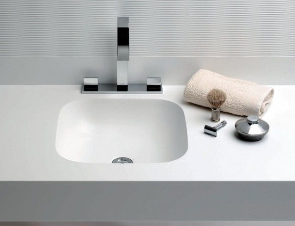 Curva® FCU Range Of Undermount Basins   Fontana Corian® Vanity Basins And  Baby Baths   CD UK Distributes The Solid Surface Material DuPont™ Corian®  To A ...
