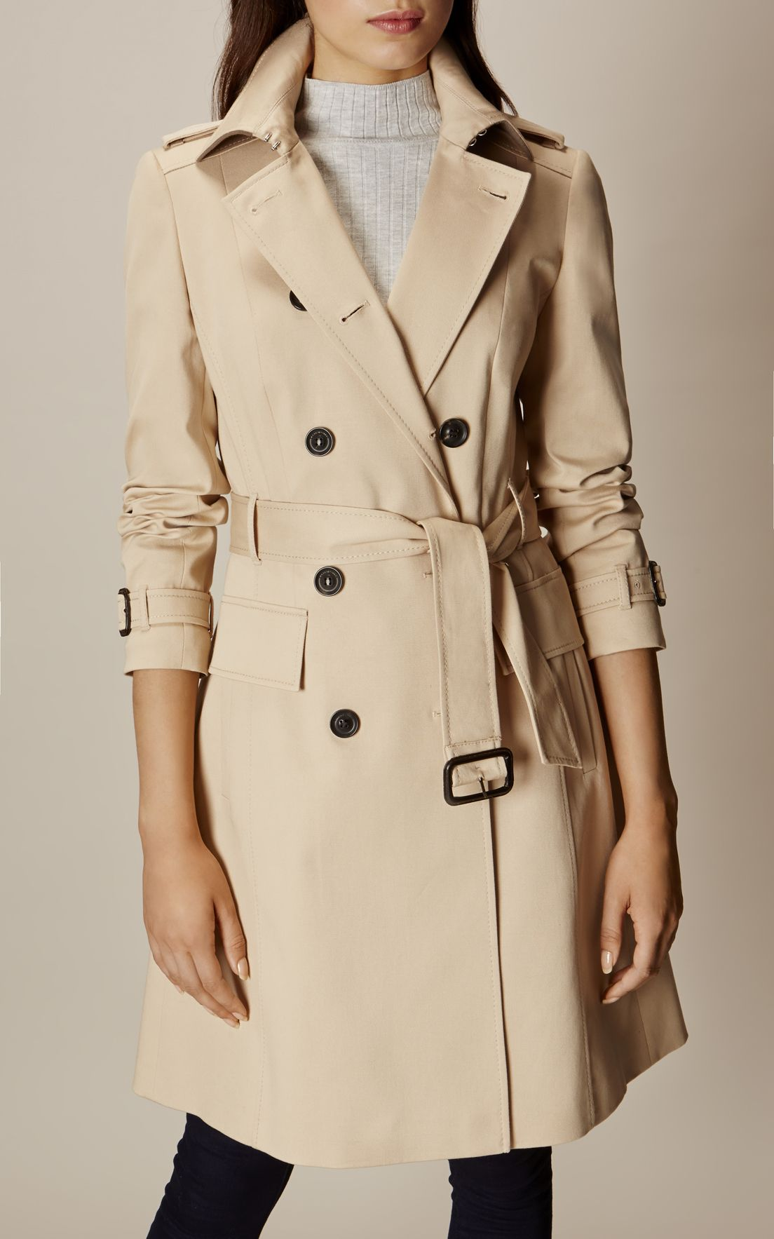 21bdc6cd5d Karen Millen, CLASSIC TRENCH COAT Neutral | Fall Style | Classic ...