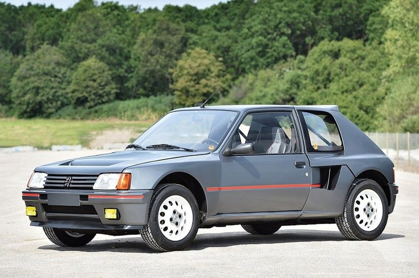 Peugeot 205 T16 Most Successful Group B Rally Car 205 Turbo 16