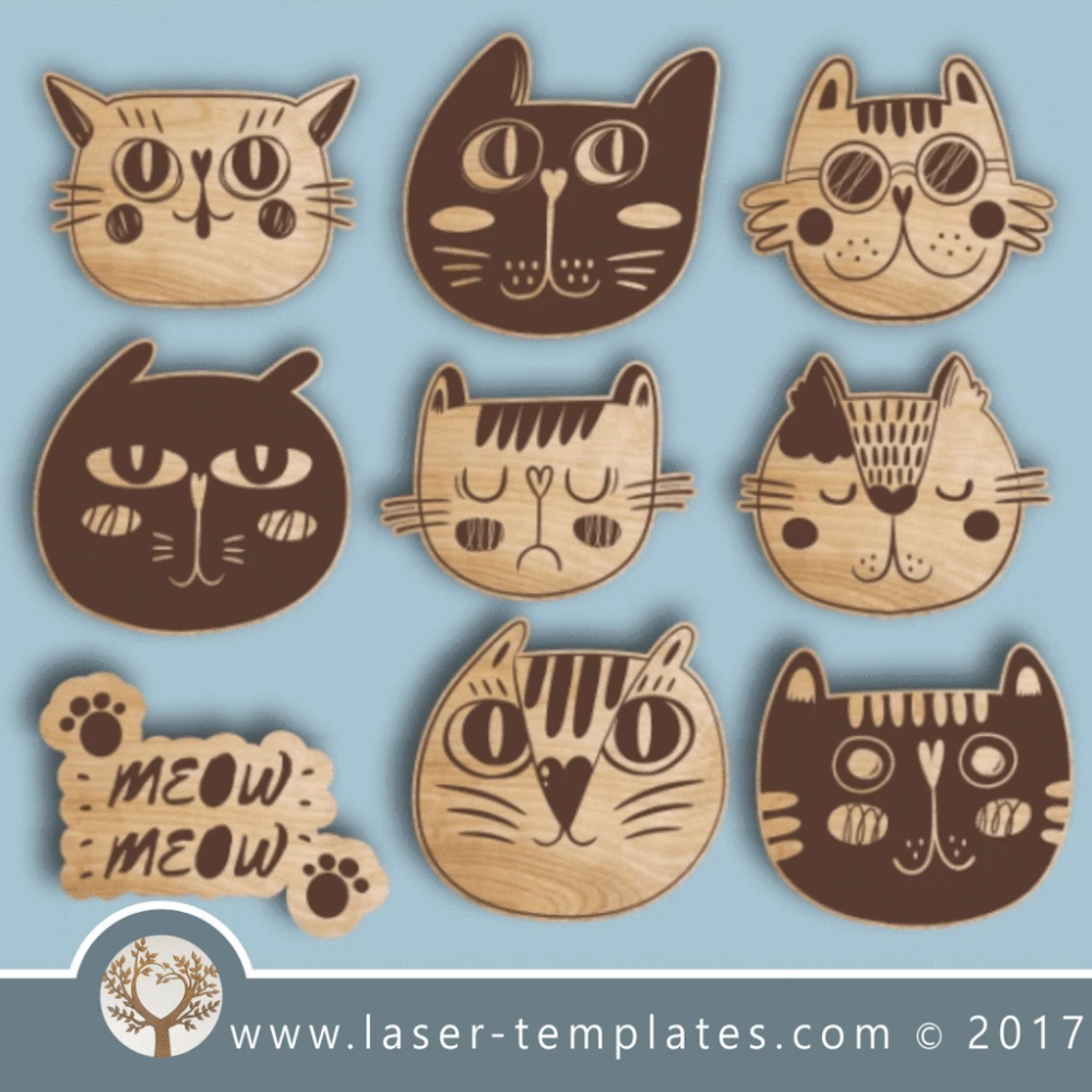 Love is all we need Cats in Love Hardwood Cutting Board select sizes Laser cut engraving on wood designed for you