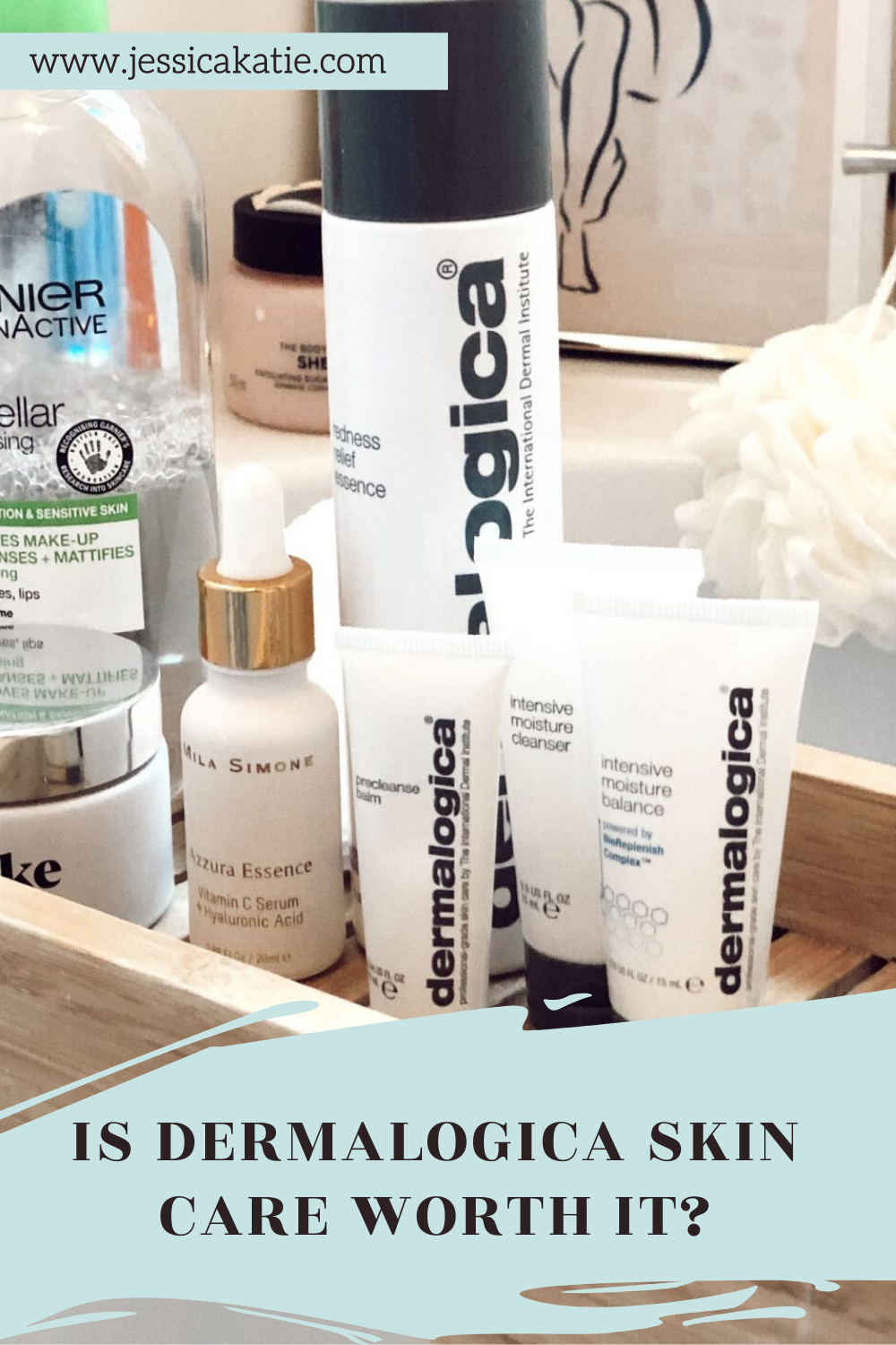 A review of my favourite dermalogica skincare products to