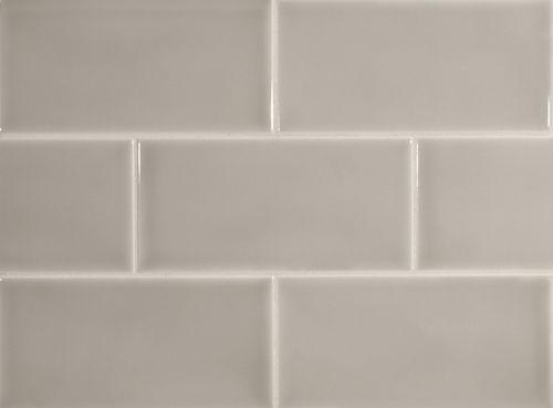 A Sumptuous Hand Made Tile Stuccio Ceramics Greyrock3x6subwaytile