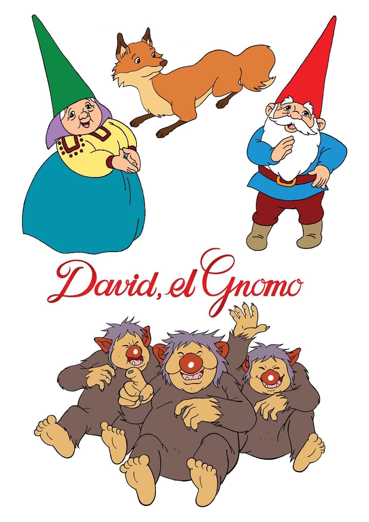 Pin De Anat En Comics David El Gnomo Gnomos Dibujos