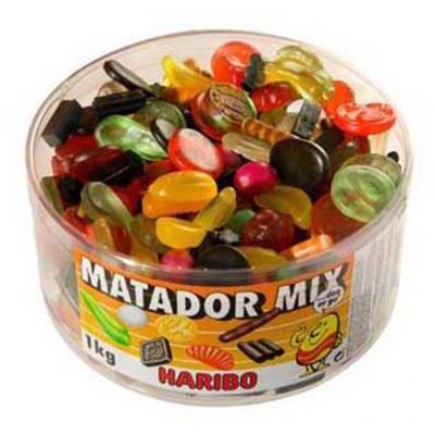 I miss Matador Mix. I want to eat all of the Matador Mix.