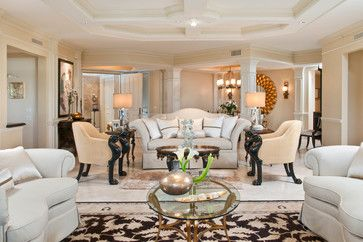 Trieste At Bay Colony  Contemporary  Living Room  Miami Magnificent Living Room Miami Design Ideas