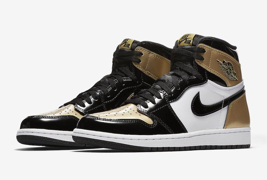 d08c468077dc86 The Air Jordan 1 Gold Toe