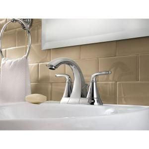 Pfister Pasadena 4 In 2 Handle Mid Arc Bathroom Faucet In Polished Chrome F 048 Pdcc At The Home D Bathroom Faucets Lavatory Faucet High Arc Bathroom Faucet