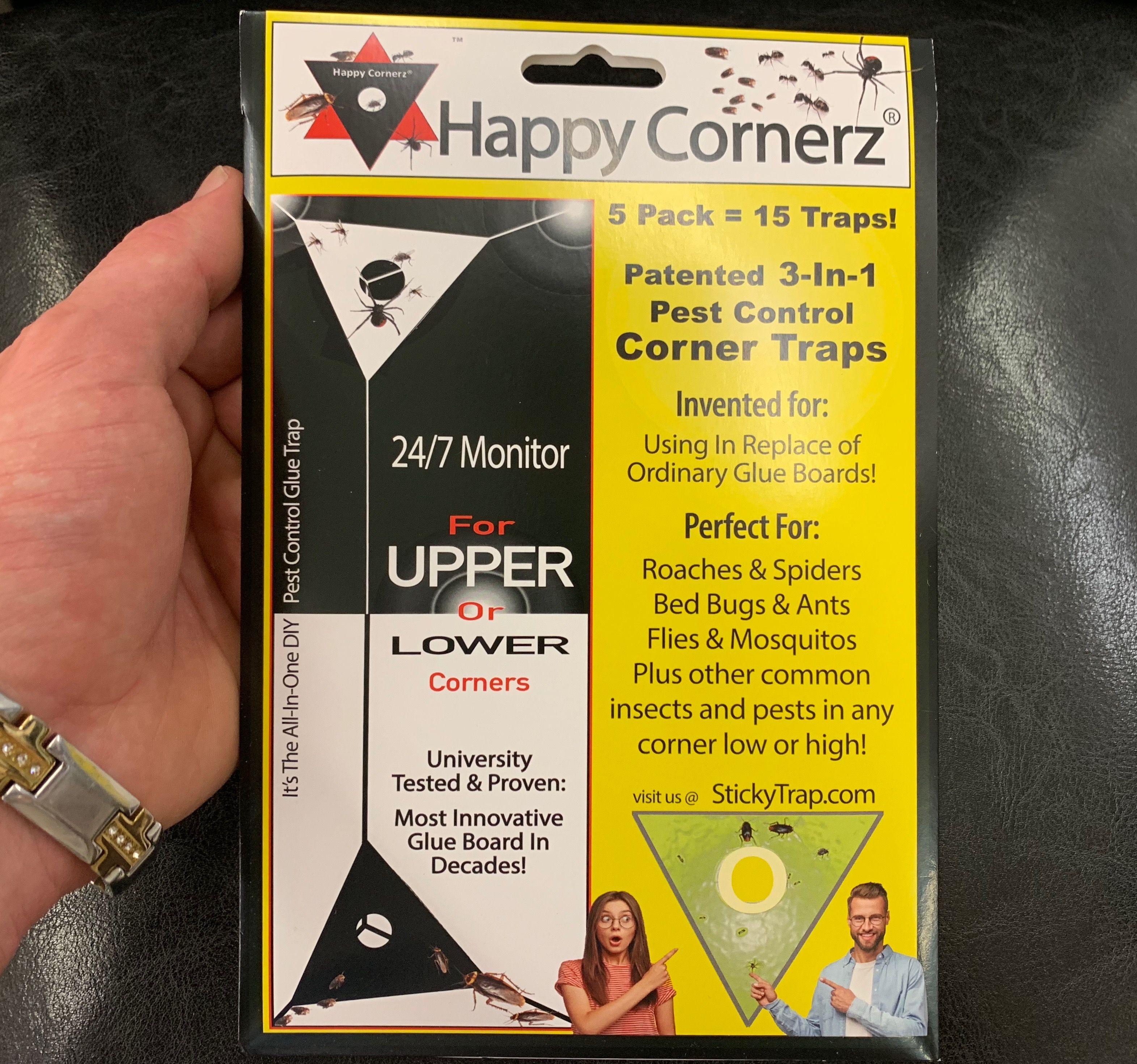 Happy Cornerz® 5 in 1 Sticky Traps in 2020 Pest control