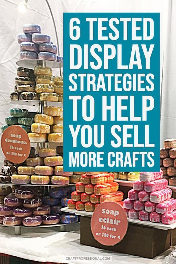 Visual Merchandising Tips #craftfairs