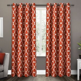 Softline Sahara Rod Pocket 84 Inch Curtain Panel By