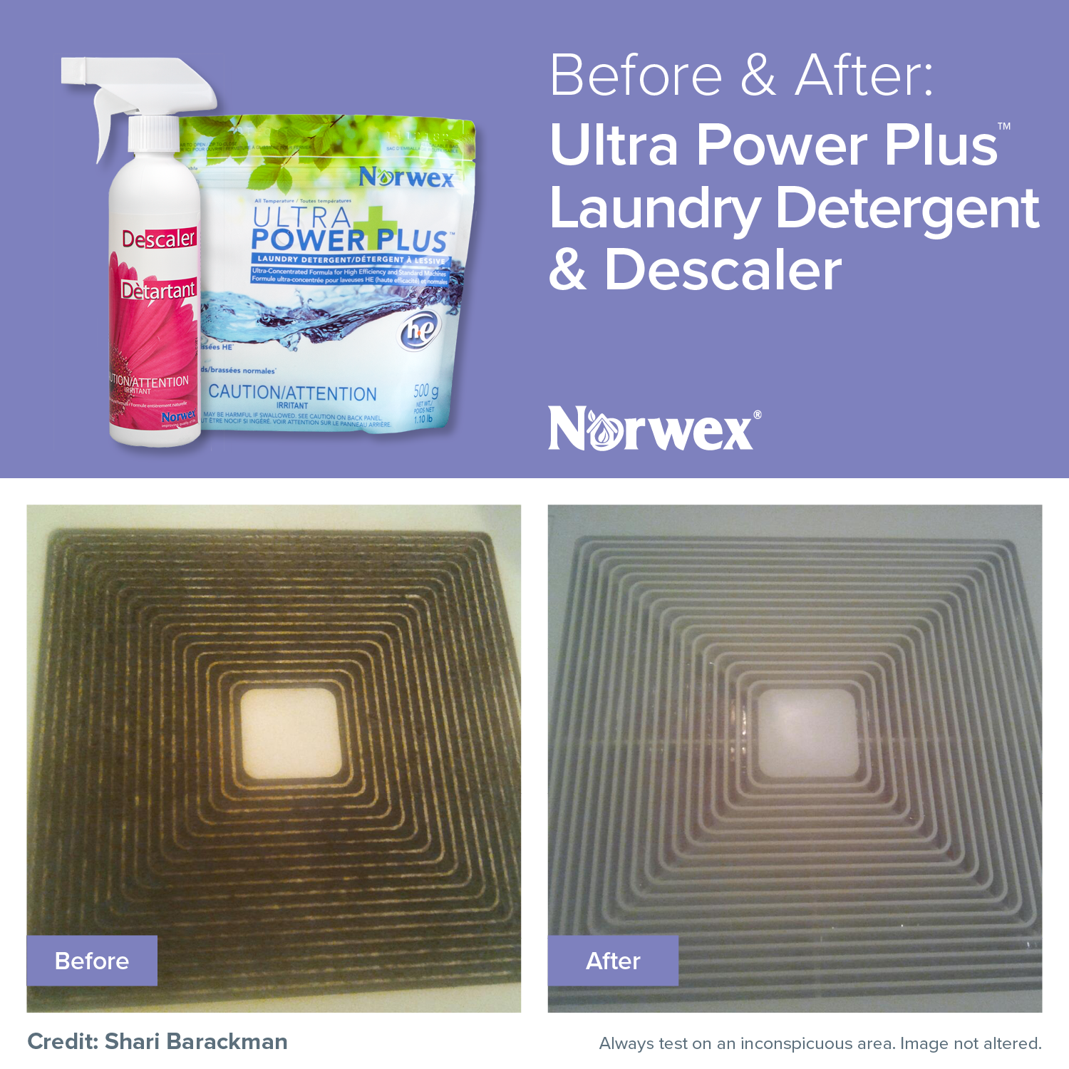 The Norwex Ultra Power Plus Laundry Detergent Dissolves Grease And