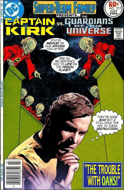Super-Team Family: The Lost Issues!: Captain Kirk Vs. The Guardians of the Universe
