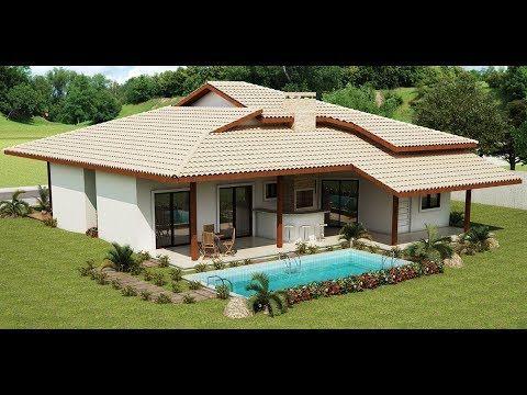 30+ Modelos de Casas de Campo - YouTube | Casas de campo ...