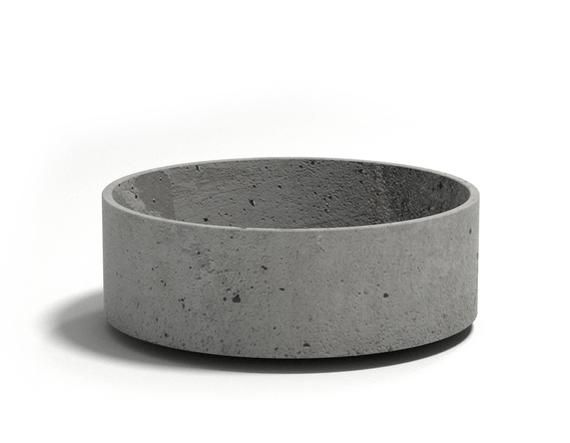 Concrete pot, concrete planter. Cylinder 95 | Wall sconce ...