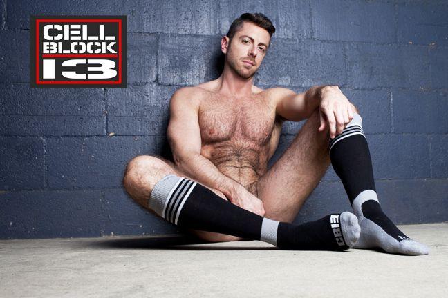 Fetish gay sock underwear