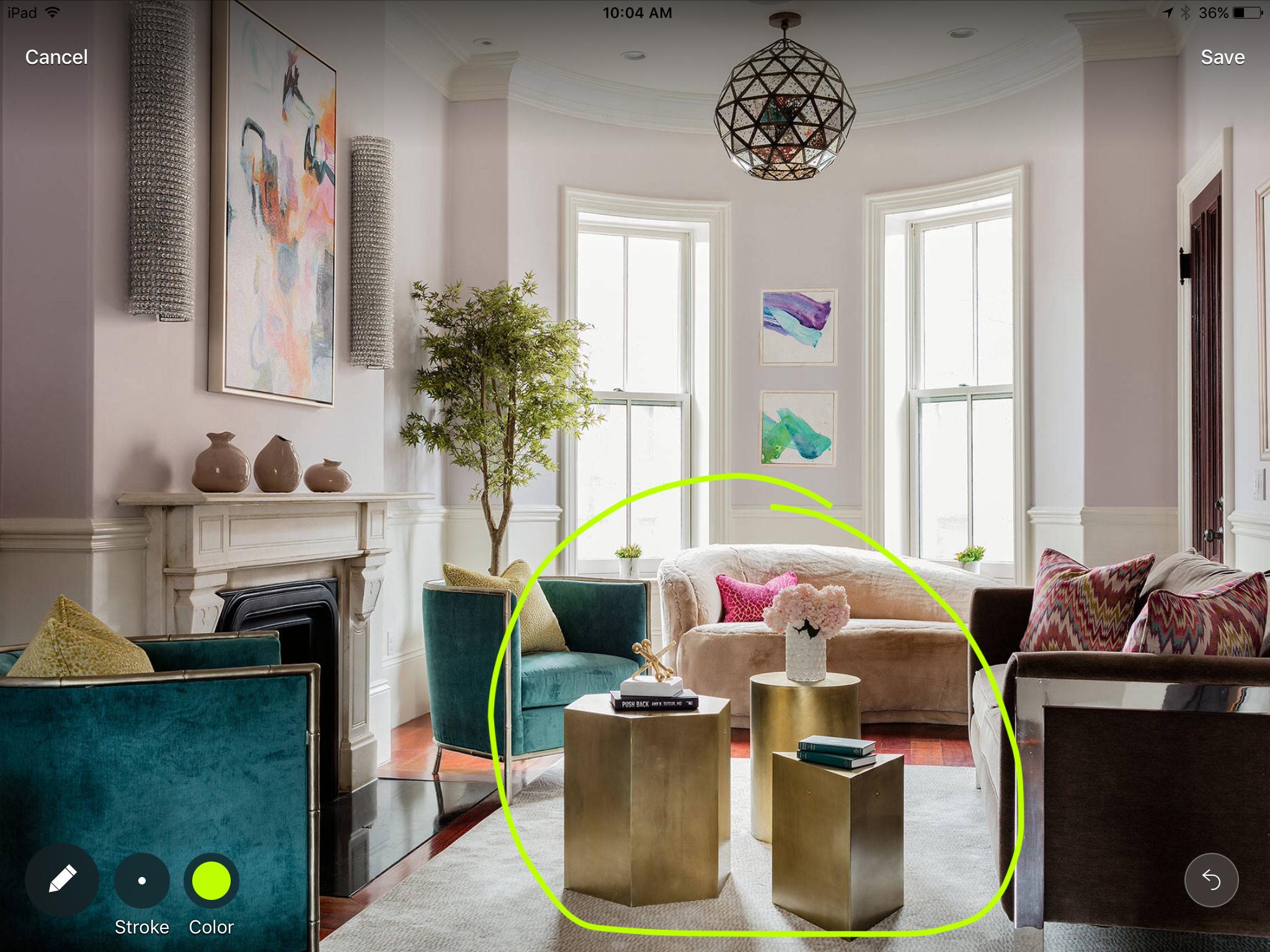 Pretty Boston Living Room By Ana Donohue