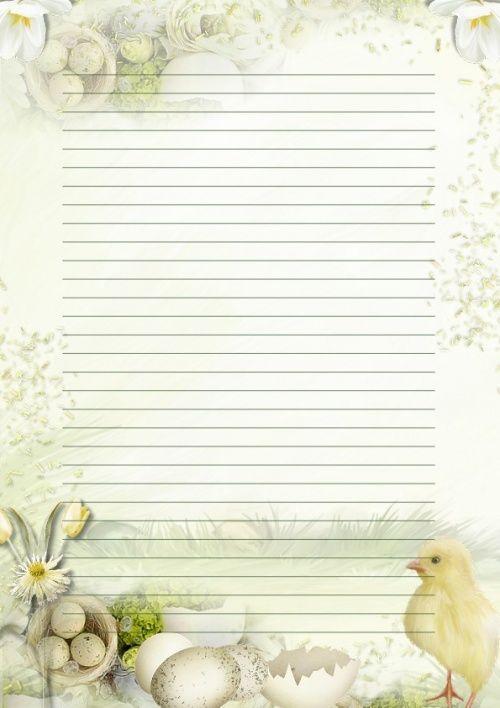 deer stationery template free deer printable stationery for - diary paper printable