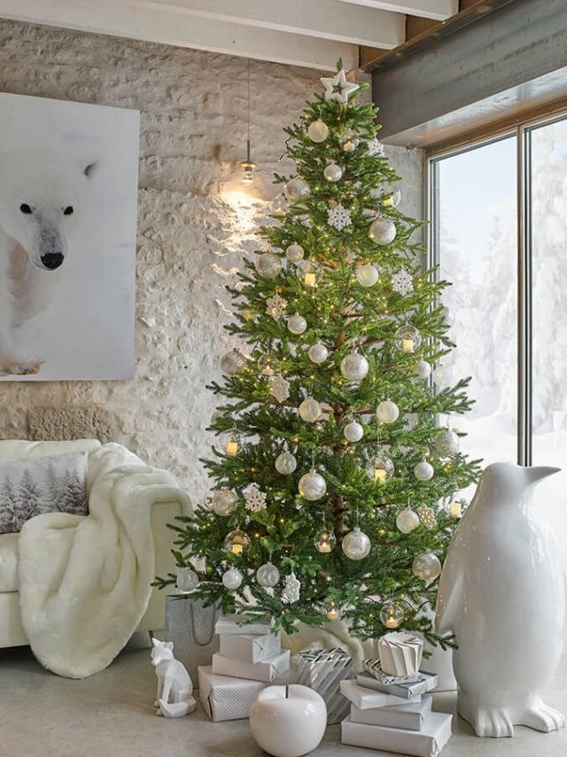 Catalogo navidad 2016 decoracion arbol blanco maisons du for Catalogo deco 2016