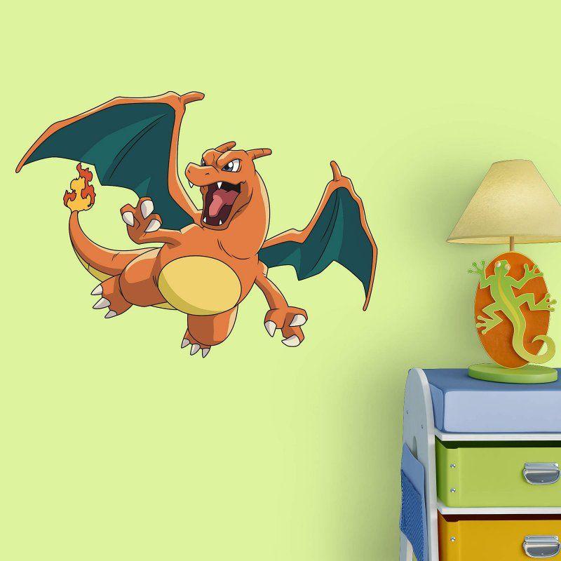 Fathead Pokemon Charizard Junior Wall Decal   15 17170