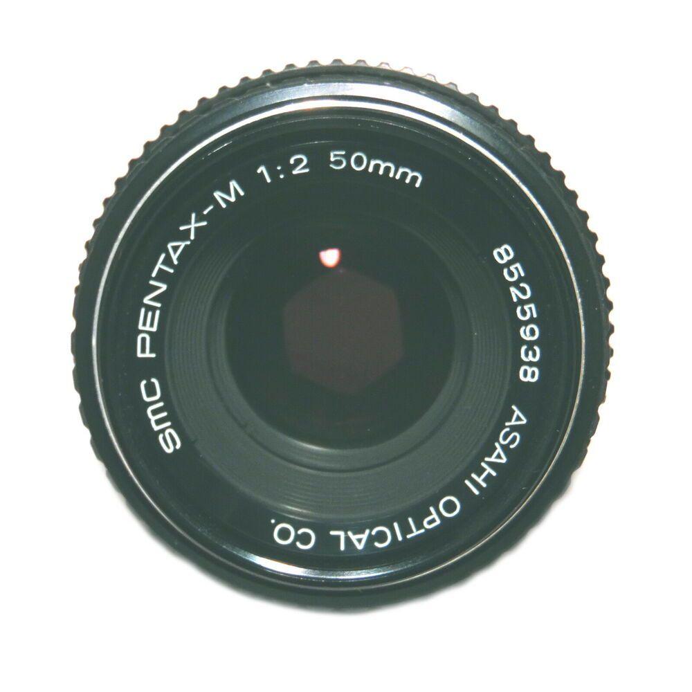 Vintage Smc Pentax M 1 12 50mm Lens Asahi Optical Co 8525938 Pre Loved Pentax Pentax Asahi Optical