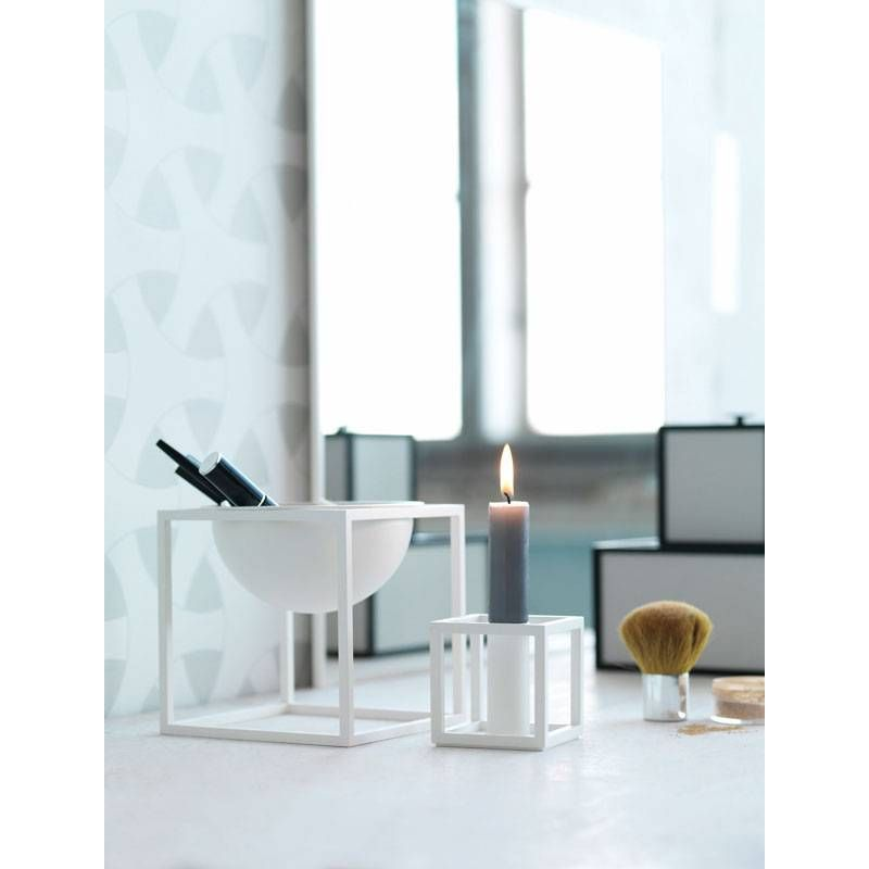 Bowl small white cube - Nordic Blends