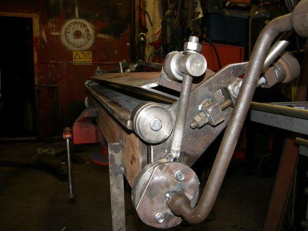 sheet metal brake plans. metal bender sheet brake plans