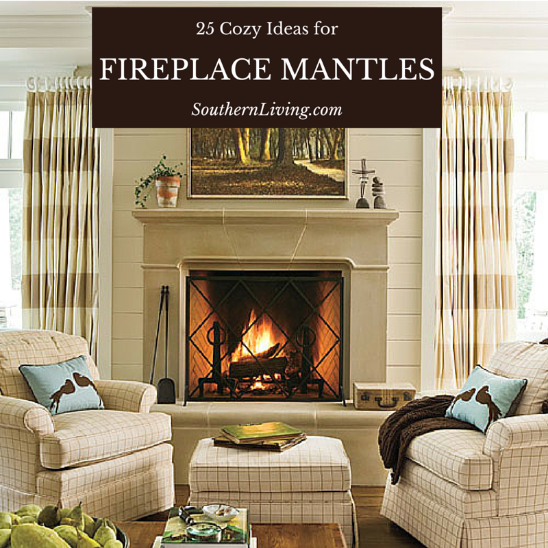 25 Cozy Ideas For Fireplace Mantels: 40 Cozy Ideas For Fireplace Mantels