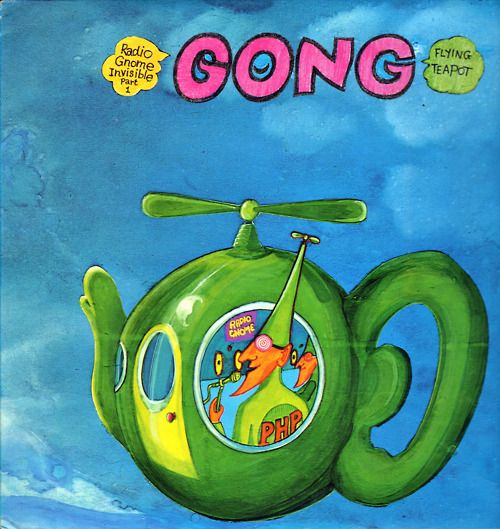 """(1973) Gong """"Flying Teapot"""" - Radio Gnome Invisible Part 1 - Psychedelic cosmogony."""