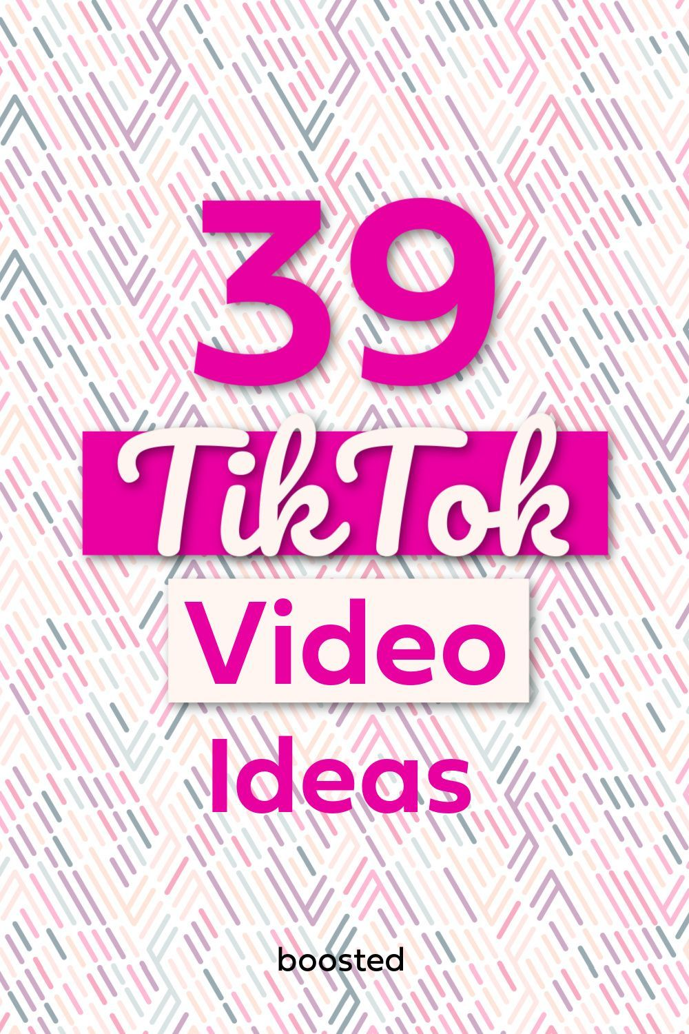 41 Tiktok Video Ideas For Small Businesses Boosted Social Media Resources Business Marketing Plan Marketing Strategy Social Media