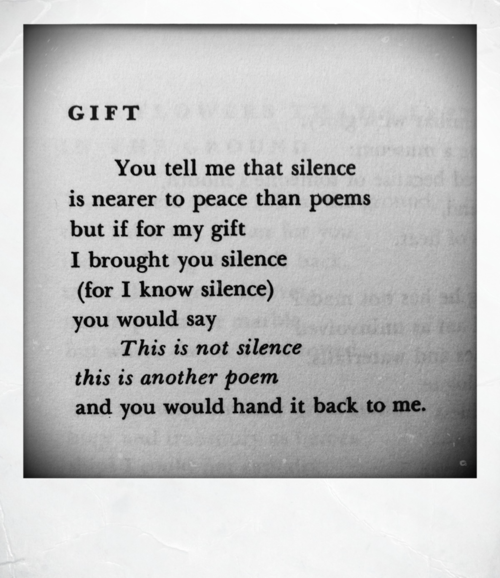 Emo Quotes About Suicide: Leonard Cohen, 'Gift' (Poems 1956-1968)